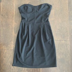 Garage Short Black Dress